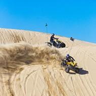 Air pollution officials threaten violation over dunes dust