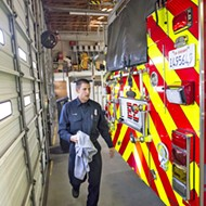 Grover talks funding its fire service