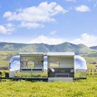 Malene Scene tasting trailer is a mobile mecca for pink wines