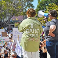 SLO, Santa Maria join nationwide protests against Trump's immigration policies