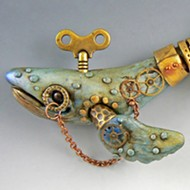 Artist Christi Friesen to host steampunk whale polymer clay workshop in Morro Bay