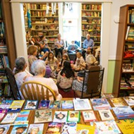 To keep the interest in reading alive, one local woman hosts book parties for kids