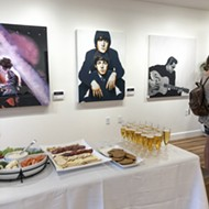 Artist Ian Smalley's new Monterey Street gallery donates all proceeds to charity