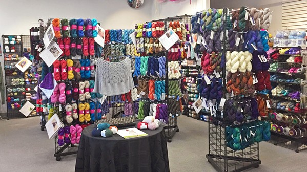 STAYING AFLOAT Let's Knit is one of SLO County's only local providers of yarn and other knitting products. Owner Julia Powers was recently awarded a $5,000 grant from the city of Grover Beach to help her get through the COVID-19 pandemic. - PHOTO COURTESY OF JULIA POWERS