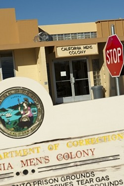 OUTBREAK An inmate at the California Men's Colony (CMC) died on Sept. 1 of what staff say appear to be complications related to COVID-19. - FILE PHOTO BY STEVE E. MILLER
