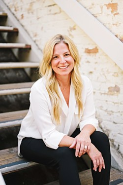 CHALLENGER Cherisse Sweeney, owner of the downtown store, Basalt Interiors, is one of three candidates running for mayor against incumbent Heidi Harmon. - PHOTO COURTESY OF CHERISSE SWEENEY