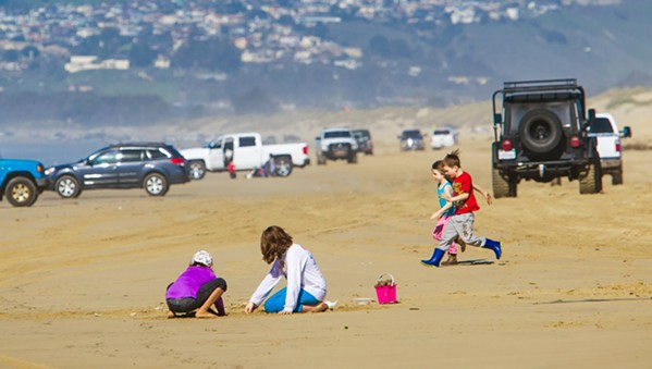 CLOSED The Oceano Dunes SVRA has been closed to vehicles since March 26, when State Parks closed the park in an effort to prevent the spread of COVID-19. - FILE PHOTO BY JAYSON MELLOM