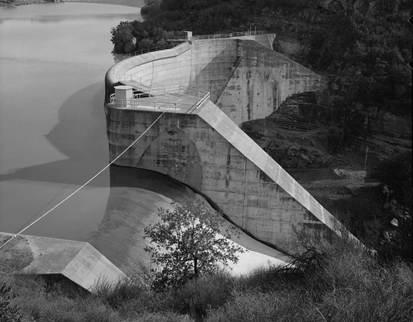 MORE WATER? San Luis Obispo County has expressed interest in taking over ownership of the Salinas Dam (pictured) from the U.S. Army Corps of Engineers and expanding the reservoir's capacity. - PHOTO COURTESY OF THE LIBRARY OF CONGRESS