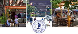 LOOKING FOR COHESION Solvang's new Branding and Design Committee nailed down a priority list to create an outdoor decor guideline for businesses during the continued Copenhagen Street closure. - PHOTO COURTESY OF THE CITY OF SOLVANG