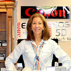 San Luis Obispo native and perennial Winning Images judge Peggy Mesler is a photographer and the owner of The Photo Shop in SLO, where she shares her appreciation for—and knowledge of—photography with customers, clients, and friends. Peggy graduated with a journalism degree from Cal Poly, and she opened her shop in 1995. - PHOTO COURTESY OF PEGGY MESLER