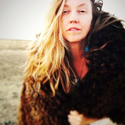 """Brittany App is a local photographer, filmmaker, and voice artist. She grew up in Los Osos and now lives off-grid on the Carrizo Plain with her rescue-dog, Luna, and seven little ducks. Her first feature-length documentary film, titled Where There Once Was Water, will hit the film festival circuit in 2021. Now, more than ever, she lives by these words from Howard Thurman, """"Don't ask yourself what the world needs. Ask yourself what makes you come alive, and go do that, because what the world needs is people who have come alive."""" - PHOTO COURTESY OF BRITTANY APP"""