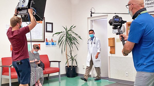 """PROMOTING HEALTH A CenCal Health TV ad campaign—""""Welcome Back to Care""""—encourages local residents to get back on track for their preventative health care, including breast cancer screenings. - PHOTO COURTESY OF CENCAL HEALTH"""