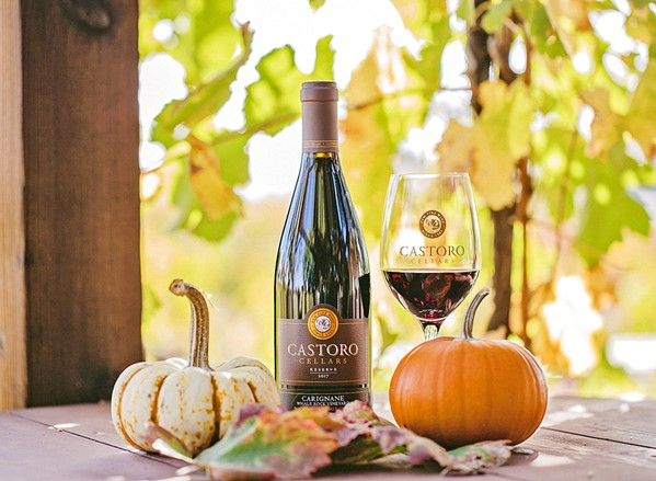 CELEBRATE Castoro is ringing in its harvest with a dinner on Oct. 17, tastings all weekend, and brunch yoga on Oct. 19. - PHOTO COURTESY OF CASTORO CELLARS