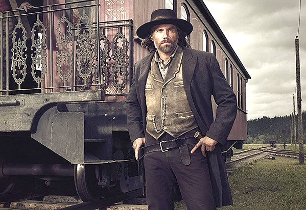 RAILROAD MAN Former Confederate soldier Cullen Bohannon (Anson Mount) finds himself swept into the race to complete the transcontinental railroad in the AMC series Hell on Wheels, now available for streaming on Netflix. - PHOTO COURTESY OF ENTERTAINMENT ONE