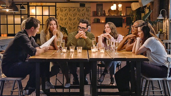 A TEARFUL GOODBYE Join show makers Eugene and Dan Levy along with cast and crew of Schitt's Creek as they reminisce about the phenomenon that their six-season show has become. - PHOTO COURTESY OF THE CANADIAN BROADCASTING CORPORATION