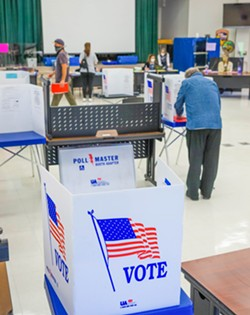 TIGHT RACES Candidates in several SLO County races are within about 100 votes of each other, according to unofficial results released on Nov. 9. - FILE PHOTO BY JAYSON MELLOM