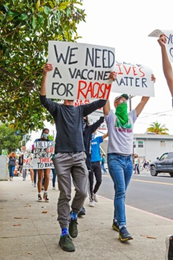 INVEST In response to the Black Lives Matter movement, the city of San Luis Obispo awarded eight grants on Nov. 17 to local nonprofits focused on diversity, equity, and inclusion. - FILE PHOTO BY JAYSON MELLOM