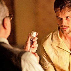 SPY GAMES In Treadstone, streaming on Hulu, captured U.S. spy J. Randolph Bentley (Jeremy Irvine, right) is forced into a 1973 KGB brainwashing program. - PHOTO COURTESY OF CAPTIVATE ENTERTAINMENT