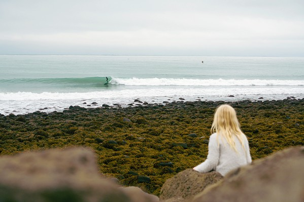 PASS THE TORCH Unnur, a short film about Icelandic surfer Elli Thor and his determination to pass on his love of nature to his daughter, Unnur, screens Dec. 5, with Stoke Chasers, either virtually or in-person at Whalebird Kombucha. - PHOTO COURTESY OF CHRIS BURKARD