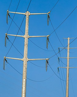 NEW POWER SOURCE More than 100,000 customers in SLO and Santa Barbara County will change electricity providers next month to Central Coast Community Energy. - FILE PHOTO BY JAYSON MELLOM