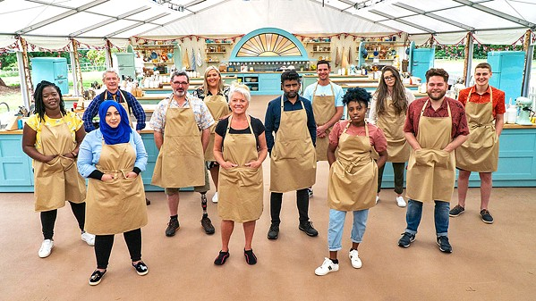 DAZZLING DOZEN Twelve new contestants face off in the charming reality TV program The Great British Baking Show, now in its 11th season and available on Netflix. - PHOTO COURTESY OF LOVE PRODUCTIONS