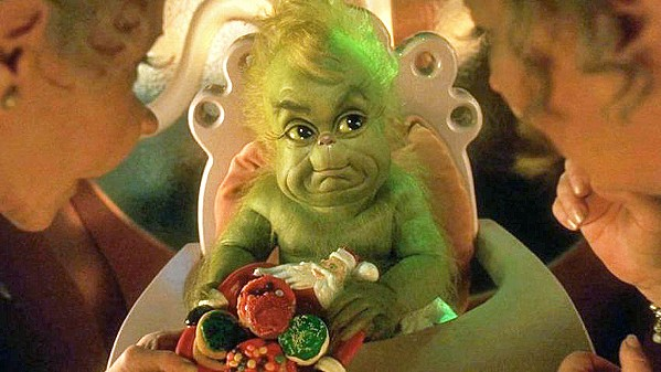 A STAR IS BORN There are few creatures more adorable than baby Grinch, as seen in director Ron Howard's 2000 adaptation of How the Grinch Stole Christmas. - PHOTO COURTESY OF UNIVERSAL PICTURES