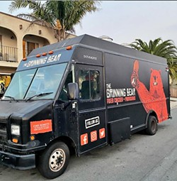 FIND IT From Tuesday through Thursday, you can find The Grinning Bear food truck parking along Grand Avenue in Grover Beach at GBeatZ. - PHOTOS COURTESY OF BRENEN BONETTI