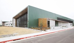 OUTBREAK San Luis Obispo's 40 Prado homeless shelter is at half capacity due to a COVID-19 outbreak. - FILE PHOTO BY JAYSON MELLOM