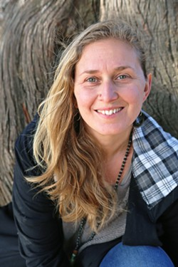 FROM STUDENT TO TEACHER Jasmine Star Horan was born and raised at Big Sur's Esalen Institute, where she attended its unique Gazebo Park School. After earning a bachelor's degree in English and a master's in teaching in Oregon, she returned to teach at the school. - PHOTO COURTESY OF JASMINE STAR HORAN