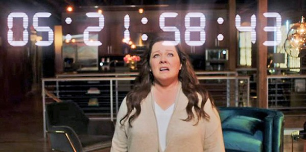 HUMANITY'S ONLY HOPE An all-powerful artificial intelligence decides to study Carol Peters (Melissa McCarthy) to decide if humanity deserves to survive, in Superintelligence, screening on HBO Max. - PHOTO COURTESY OF NEW LINE CINEMA