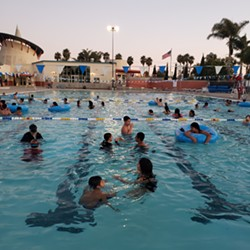 GETTING FIT While Santa Maria's Paul Nelson Aquatic Center (pictured) will remain closed for a bit longer, the city's Hagerman Sports Complex is back open for patrons to utilize on a reservation-only basis. - PHOTO COURTESY OF DENNIS SMITHERMAN