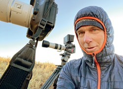 HAVE CAMERA, WILL TRAVEL Carpinteria resident Chuck Graham, a freelance photographer and writer, recently released his collection of photos and essays on the Carrizo Plain National Monument, which celebrates its 20th anniversary as protected space this month. - PHOTO COURTESY OF CHUCK GRAHAM