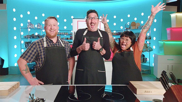 KITCHEN THROWDOWN Three contestants face off in a competition to turn unfinished food into finished culinary masterpieces, in the Netflix reality TV-series Best Leftovers Ever! - PHOTO COURTESY OF NETFLIX