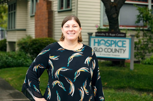 RECOVERING Hospice SLO County's newest executive director, Shannon McOuat, speaks out about her mental health experience while recovering from COVID-19. - PHOTO COURTESY OF TOM MEINHOLD