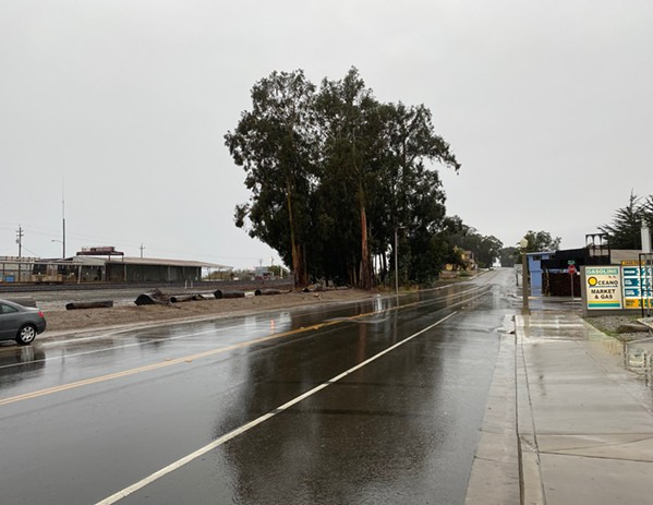 AFTER Due to the Oceano Drainage Improvement Project, Oceano didn't flood where it normally does after receiving about 1.8 inches of rain in less than 24 hours on Jan. 28, 2021. - PHOTO COURTESY OF GENARO DIAZ
