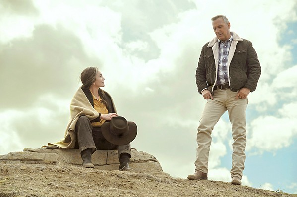FAMILY FIRST Margaret (Diane Lane) and George Blackledge (Kevin Costner) go in search of their young grandson in the neo-Western Let Him Go, currently available at Redbox. - PHOTO COURTESY OF MAZUR/KAPLAN COMPANY