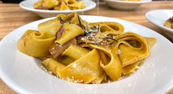 THICC PASTA Antonio Ramos III cooks up handmade pasta dishes for Chef Antonio's Italian Kitchen every week for you to enjoy in the comfort of your home. - PHOTO COURTESY OF CHEF ANTONIO'S ITALIAN KITCHEN