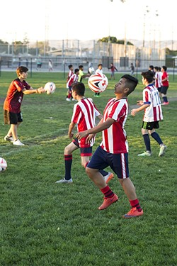 LET THEM PLAY In a Feb. 5 letter to Gov. Gavin Newsom, Assemblyman Jordan Cunningham (R-San Luis Obispo) and more than 30 other state legislators from both sides of the aisle argued that some youth sports should be allowed amid the pandemic. - FILE PHOTO BY JAYSON MELLOM