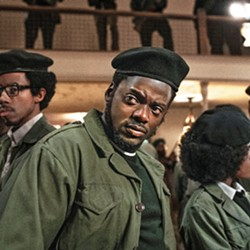A DANGEROUS MAN In Judas and the Black Messiah screening on HBO Max, Daniel Kaluuya stars as Black Panther Fred Hampton, who was considered so dangerous by the FBI and Chicago police that he was murdered in his bed by law enforcement. - PHOTO COURTESY OF BRON CREATIVE