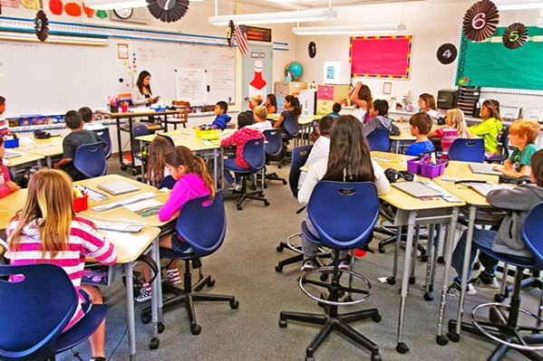 REOPENING? Some elementary students could soon return to school for in-person classes as a result of new state and federal reopening guidelines. - FILE PHOTO COURTESY OF SAN LUIS COASTAL UNIFIED SCHOOL DISTRICT