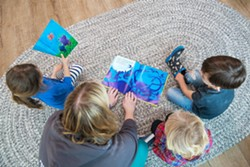 NEW AID SLO County is setting aside $55,000 for a new grant program to help local child care centers. - FILE PHOTO BY JAYSON MELLOM