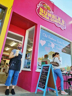 OLD FASHIONED Bumble B Soda Company in Morro Bay is a twist on the soda shops of the past, crafting sodas to order in almost any flavor you could desire with a little bit of whimsy sprinkled on top. - PHOTO COURTESY OF RYAN BELLO