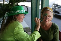 GREEN IN THE RED TIER Local bars and restaurants are gearing up for a pandemic St. Patrick's Day. - FILE PHOTO BY GLEN STARKEY
