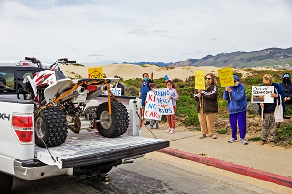 THE END OF AN ERA The California Coastal Commission unanimously voted to ban off-roading in the Oceano Dunes SVRA, a mandate that will require State Parks to eliminate most vehicle access in the dunes on its own accord within the next three years. The decision puts to rest a 40-year-old debate over vehicle access in the dunes. - FILE PHOTO BY JAYSON MELLOM