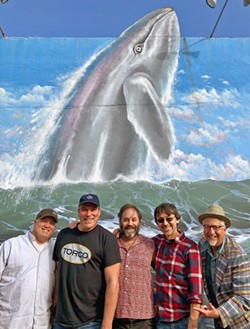 DEADHEADS ASSEMBLE! Rosebud, playing April 10, at SLO Brew Rock, will appeal to fans of the Grateful Dead. - PHOTO COURTESY OF ROSEBUD