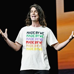 CHARISMATIC D-BAG Adam Neumann, the co-founder of WeWork, managed to make and break his multi-billion-dollar start-up, as documented in WeWork: Or the Making and Breaking of a $47 Billion Unicorn, on Hulu. - PHOTO COURTESY OF CAMPFIRE AND FORBES ENTERTAINMENT