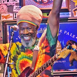 OG ROOTS Ras Danny and the Reggae Allstars play SLO Brew Rock's Beer Garden Stage on May 7. - PHOTO COURTESY OF RAS DANNY
