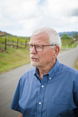INNOVATOR Winemaker, vineyard manager, and hands-on owner Jean-Pierre Wolff relies on education, technology, and innovation to help Wolff Vineyards stay sustainable and adapt to climate change. - PHOTOS BY JAYSON MELLOM