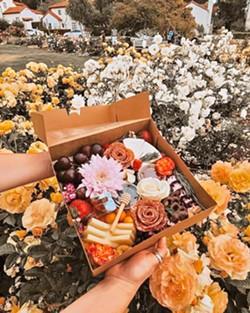 BOSTON'S BOXES Local Rachel Boston, creator of Brie Happy Charcuterie, described a charcuterie box as the perfect companion to bring along on outdoor adventures. - PHOTOS COURTESY OF RACHEL BOSTON