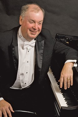 NOTHING BUT LUDWIG B Pianist and Cal Poly Professor Emeritus W. Terrence Spiller will give a virtual all-Beethoven recital on May 21, which will be available to stream through May 28. - PHOTO COURTESY OF W. TERRENCE SPILLER